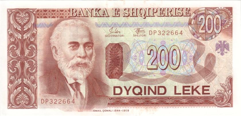 Albania P56 200 Leke 1994 UNC