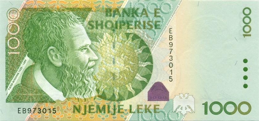 Albania P69 1.000 Leke 2001 UNC