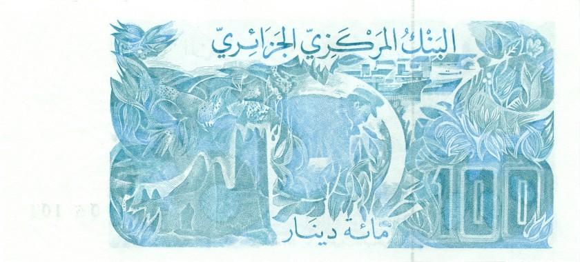Algeria P134 100 Dinars 1982 UNC