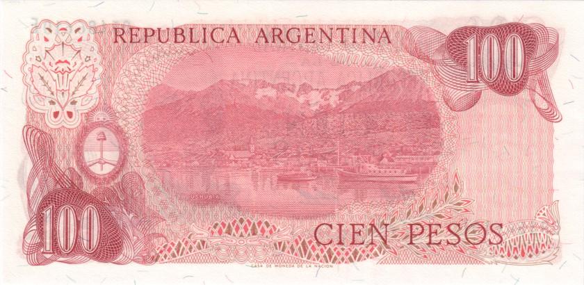 Argentina P302b(2) 100 Pesos Serie E 1976-1978 UNC