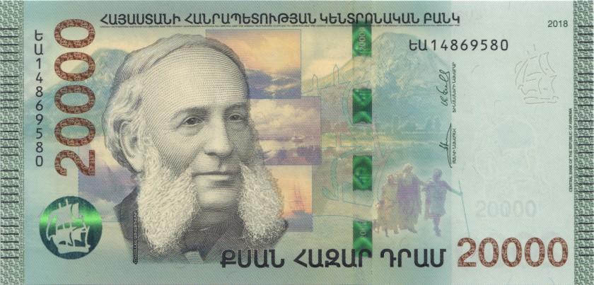 Armenia P-NEW 20.000 Dram 2018 UNC