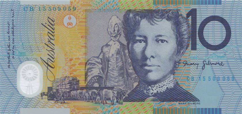 Australia P58 10 Dollars 2015 UNC