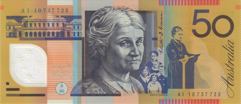 Australia P60h 50 Dollars 2010 UNC