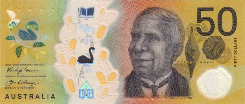 Australia P-NEW 50 Dollars 2018 UNC