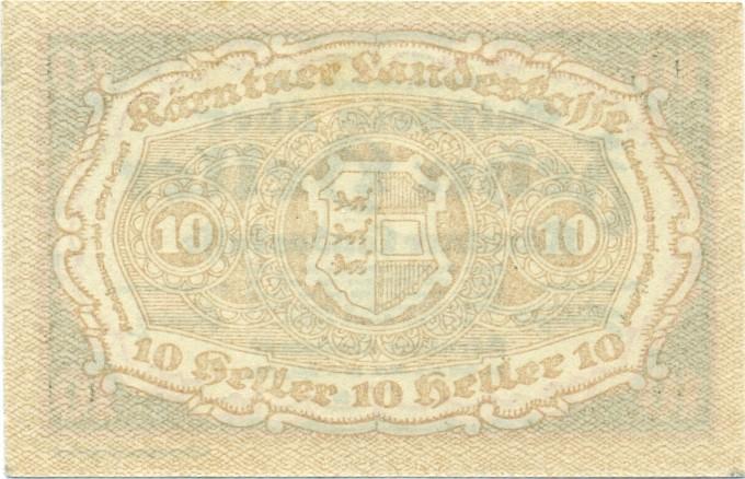 Austria P-S106 10 Heller 1920 AU