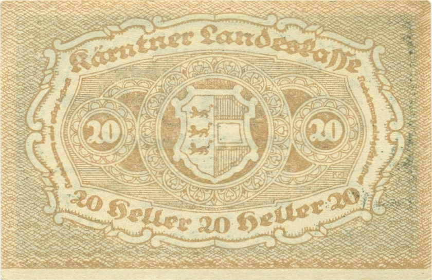 Austria P-S107 20 Heller 1920 AU