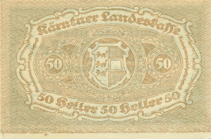 Austria P-S108 50 Heller 1920 AU-UNC