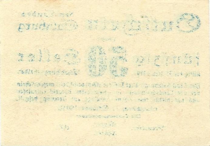 Austria P-S128a 50 Heller 1919 AU