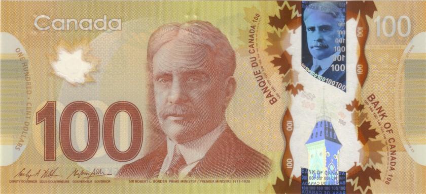 Canada P110c 100 Dollars 2011 UNC