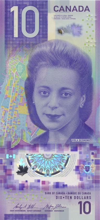 Canada P-NEW 10 Dollars 2018 UNC