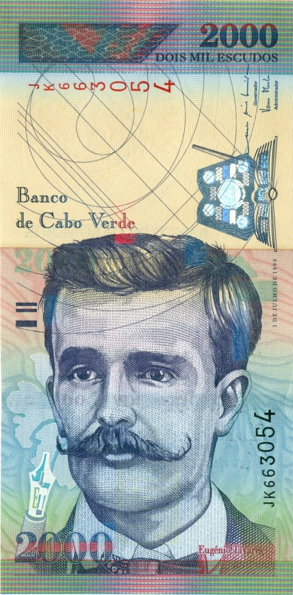 Cape Verde P66 2.000 Escudos 1999 UNC