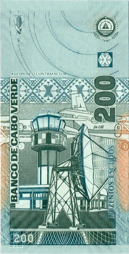 Cape Verde P68 200 Escudos 2005 UNC