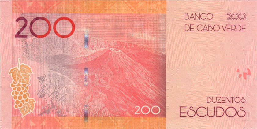 Cape Verde P-NEW 553355 RADAR 200 Escudos 2019 UNC