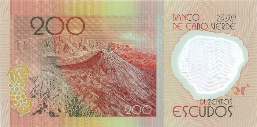 Cape Verde P71r REPLACEMENT 200 Escudos 2014 UNC