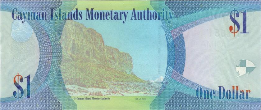 Cayman Islands P38 1 Dollar 2018 UNC