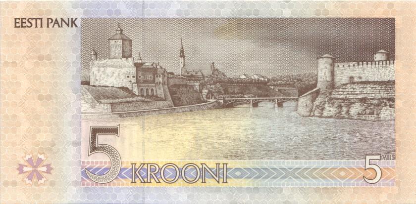 Estonia P76r REPLACEMENT 5 Krooni 1994 UNC