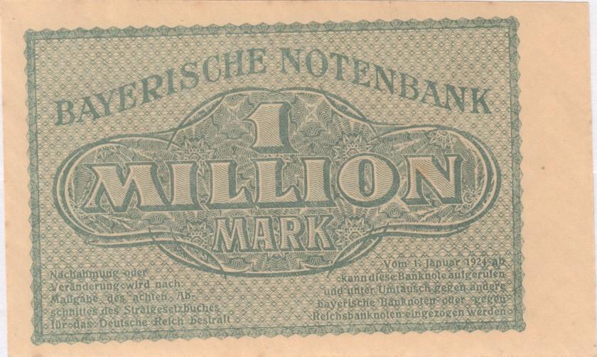 Germany P-S931 1.000.000 Mark 1923 UNC