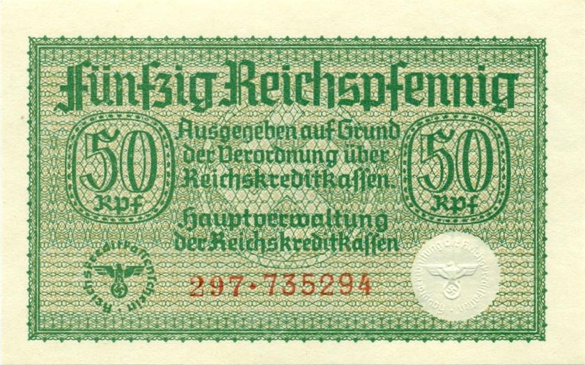 Germany P-R135 50 Reichspfennig  1940-1945 UNC