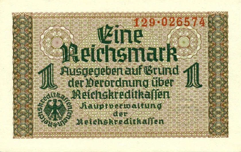 Germany P-R136a 1 Reichsmark 1940-1945 AU