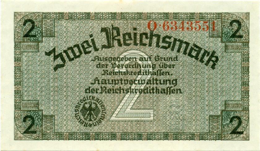 Germany P-R137 2 Reichsmark 1940-1945
