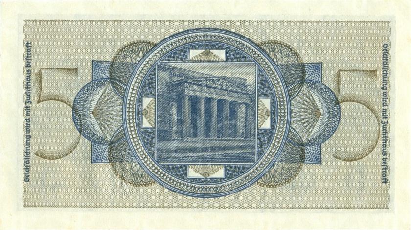 Germany P-R138a 5 Reichsmark 1940-1945 UNC