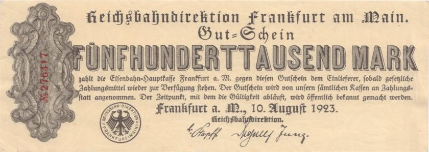 Germany P-S1216 500.000 Mark 1923 XF
