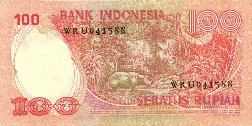 Indonesia P116 100 Rupiah 1977 UNC