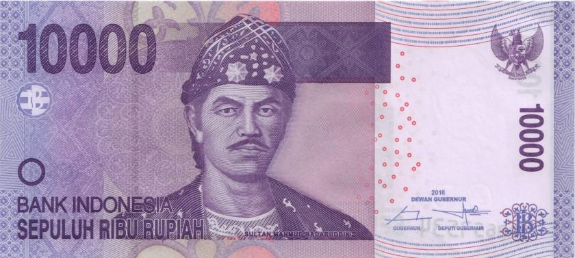 Indonesia P150h 10.000 Rupiah 2005/2016 UNC