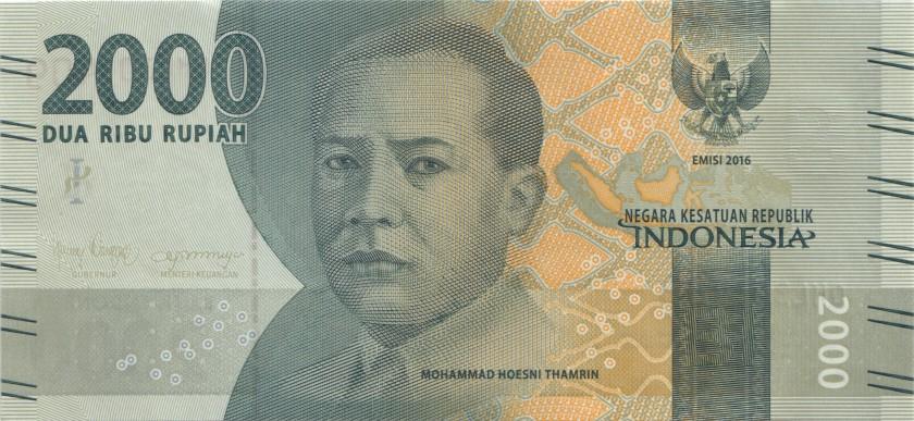Indonesia P155 2.000 Rupiah 2016/2018 UNC