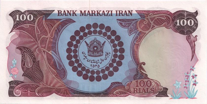 Iran P108 100 Rials 1976 UNC
