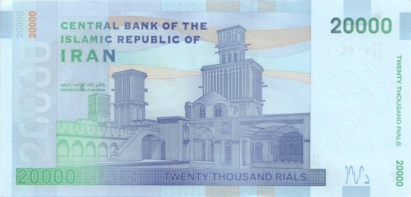 Iran P153(1) 20.000 Rials 2014 UNC