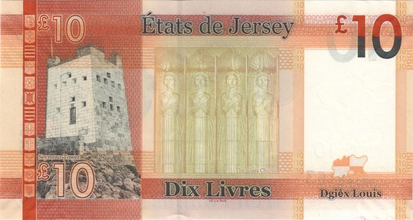 Jersey P34a(2) 10 Pounds 2018 UNC