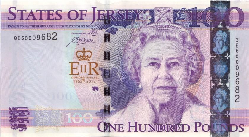Jersey P37 100 Pounds 2012 UNC