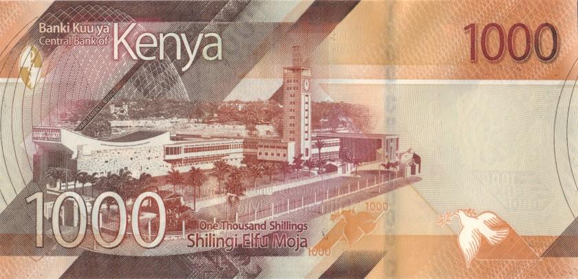 Kenya P-NEW 1.000 Shillings 2019 UNC