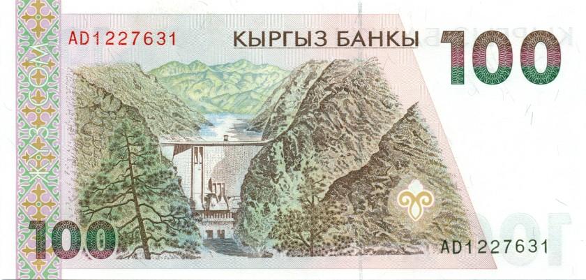 Kyrgyzstan P12 100 Som 1994 UNC