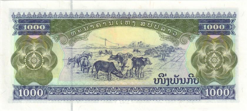 Laos P32Ab 5745745 1.000 Kip 2003 UNC