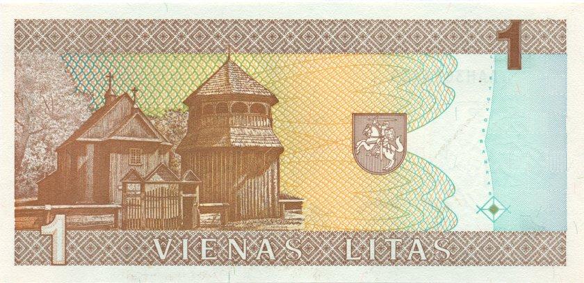 Lithuania P53 1 Litas 1994 UNC