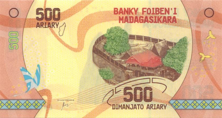 Madagascar P99 500 Ariary 2017 UNC