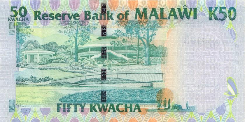 Malawi P49 50 Kwacha 2004 UNC