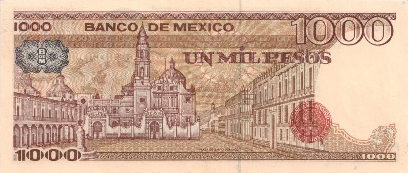 Mexico P80b 1.000 Pesos Series VP 1984 UNC