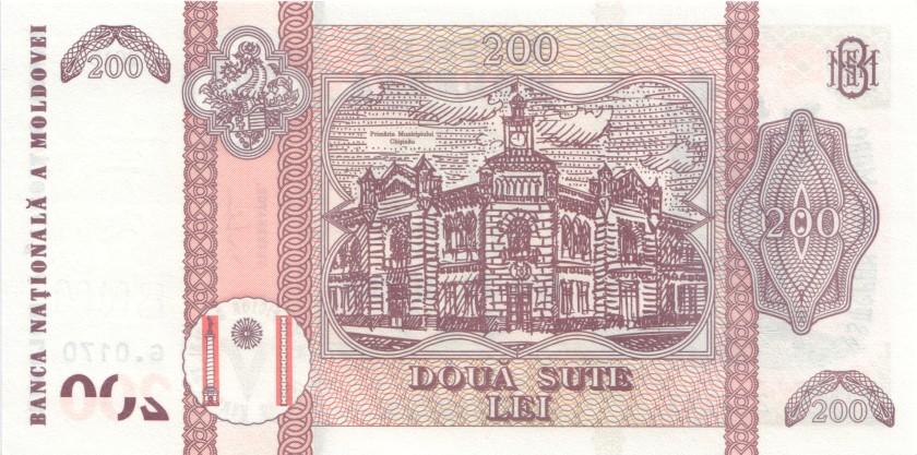 Moldova P26 200 Lei 2015 UNC