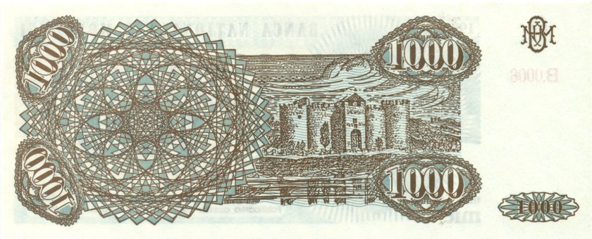 Moldova P3 926926 1.000 Coupons 1993 UNC