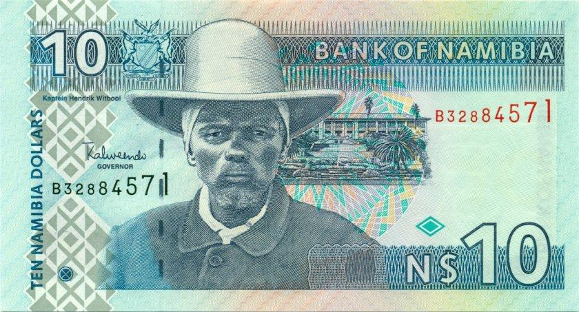 Namibia P4c 10 Namibia Dollars UNC