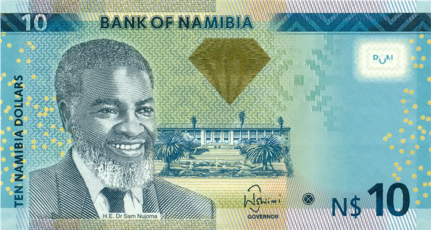 Namibia P11a 10 Namibia Dollars 2012 UNC