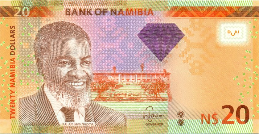 Namibia P12b 20 Namibia Dollars 2013 UNC