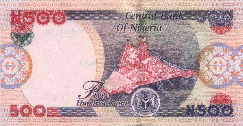 Nigeria P30a 500 Naira 2001 UNC
