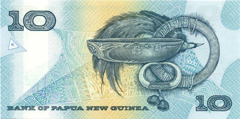 Papua New Guinea P9d 10 Kina 1997 UNC