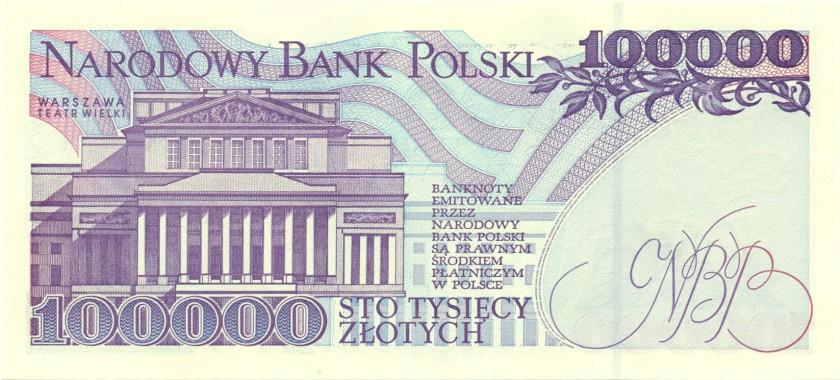 Poland P160 100.00 Złotych 1993 UNC