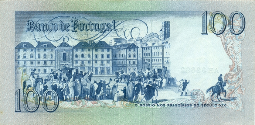 Portugal P178a(3) 100 Escudos 1980 UNC