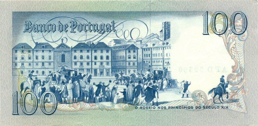 Portugal P178b(3) 100 Escudos 1981 UNC